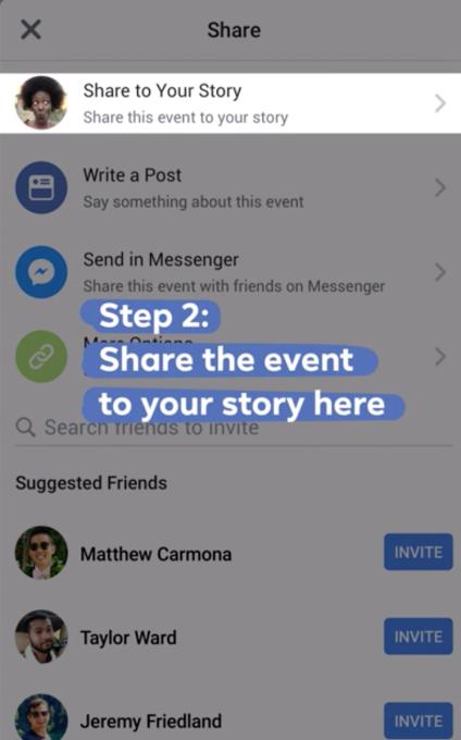 The Social Recap; week 3 - Facebook Stories Share