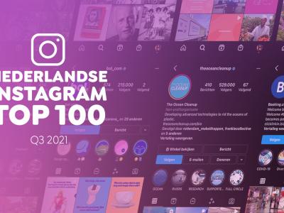 Instagram top 100 - Q3